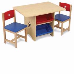 KidKraft 26912 Star Table & 2 Chair Set