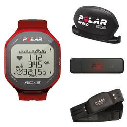 Polar RCX5 b Red 90042088, RCX5 b Red - BIKE