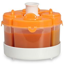 Baby Brezza Quattro Storage System - Orange