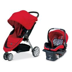 Britax S865900 - B-Agile and B-Safe Travel System, Red