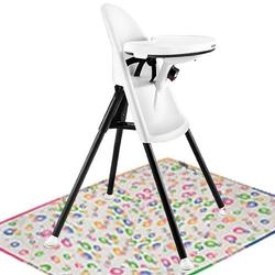 Baby Bjorn 067021USKT High Chair  with Splat Mat- White