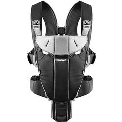 Baby Bjorn 096065US Miracle Baby Carrier - Black/Silver, Cotton Mix