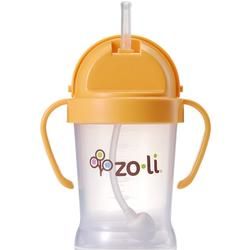 Zo-li BF09PPO001 -  BOT 6 oz Straw Sippy Cup -Orange
