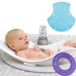 PujBaby PUJTUBAQUA, Puj Tub, Aqua Blue with Bath Thermometer