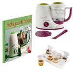 Beaba B2212, BabyCook 4 in 1 blender kit with Babycook Book and Baby Cubes - Gipsy