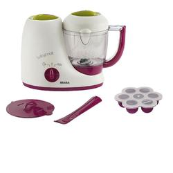 Beaba B2212, Baby Cook Set - Baby Cook and Multiportions - Purple