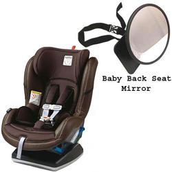 Peg Perego Primo Viaggio Convertible Car Seat w/Back Seat Mirror - Cacao Brown