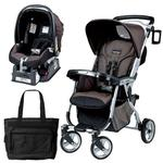 Peg Perego Vela Easy Drive Stroller - Newmoon Travel System