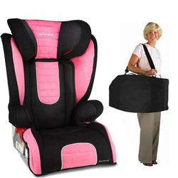 Diono Monterey Booster Seat with Free Carrying Case - Pink