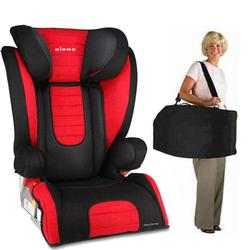 Diono Monterey Booster Seat with Free Carrying Case - Red