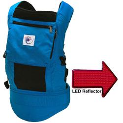 Ergo Baby BCP42200, Performance Carrier With a LED Safety Reflector Light - True Blue