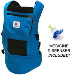 Ergo Baby BCP42200, Performance Carrier With a Medicine Dispenser - True Blue