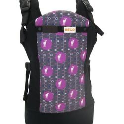 Beco B211-NOVA Butterfly 2 Baby Carrier -Nova Black