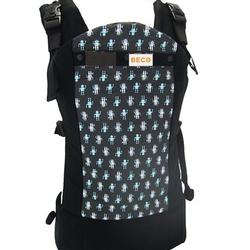 Beco B211-ROBO Butterfly 2 Baby Carrier - Robots Black