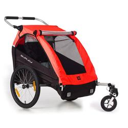 Burley 949204 Honey Bee Bicycle Trailer w/stroller wheel - Red