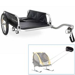 Burley Flatbed Bicycle Trailer w/Ski Kit