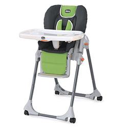 Chicco 04063803630 Polly Double Pad High Chair, Midori