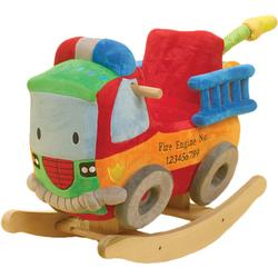 Rockabye 85033 BLAZE The Fire Engine Rocker