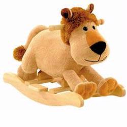 Charm 82238 Plush Leonard Lion Rocker