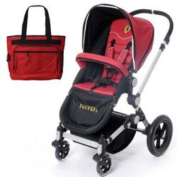 Ferrari FRB10100 Bee Bop Stroller/Pram with matching diaper bag