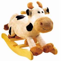 Charm 82240 Plush Carlton Cow Rocker