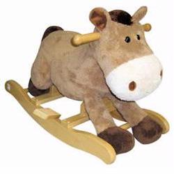 Charm 82241 Plush Harry Horse Rocker