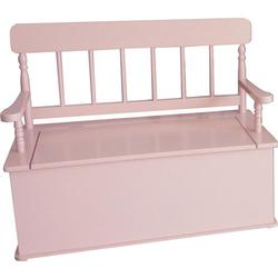 Levels of Discovery LOD33058 Pink Bench Seat w/ Storage