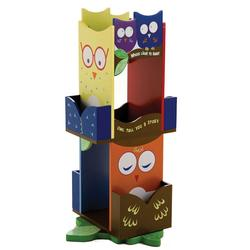 Levels of Discovery LOD20059 Owl Revolving Bookcase