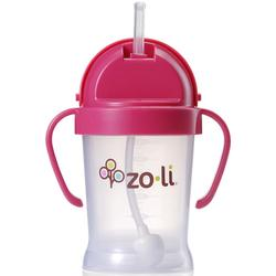 Zo-li BF10PPP001 - BOT 6 oz Straw Sippy Cup -Pink