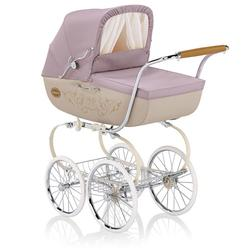 Inglesina CLASS12CML Classica Pram with Diaper Bag and Raincover - Camelia (pink)