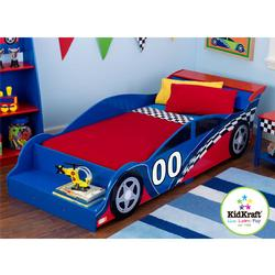 Kidkraft 76040, Racecar Toddler Bed