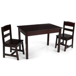 KidKraft 26680, Rectangle Table & 2 Chair Set - Espresso