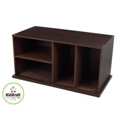KidKraft 14176 Espresso Storage Unit with Shelves