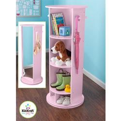 KidKraft 12553 Small Swivel Vanity - Pink