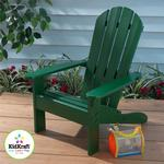 Kidkraft 00084 Adirondack Chair - Hunter Green