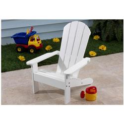 Kidkraft 00081 Adirondack Chair - White
