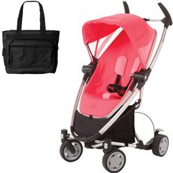 Quinny Zapp Xtra Stroller with diaper bag - Pink Precious