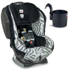 Britax Advocate  G4 Convertible Car Seat w/ Cup Holder - Zebra
