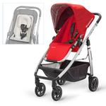 UPPAbaby 0071DNY, Cruz Stroller with Infant SnugSeat - Denny