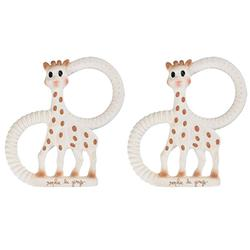 Vulli 200318, Set of 2 Gift Boxed Sophie Giraffe So Pure Vanilla Teethers