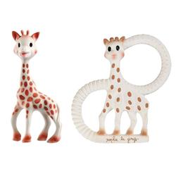 Vulli Sophie The Giraffe Teether Toy Set - with Original Sophie and Sophie The Giraffe Vanilla Teething Ring