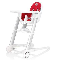 Inglesina AZ90D3RE7US, Zuma white highchair - Red