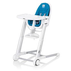 Inglesina AZ90D3LBLUS, Zuma white highchair - Light blue
