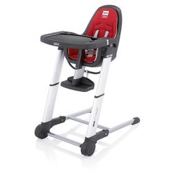 Inglesina AZ90D6RE7US, Zuma gray highchair - Red
