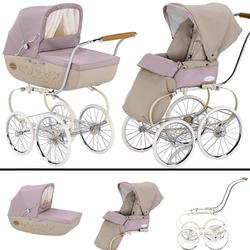 Inglesina SYSTM12CML Classica Pram and Seat with Raincover - Camelia (pink)