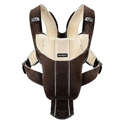 Baby Bjorn 026143US Baby Carrier Active - Dark Brown/Beige Corduroy