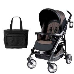 Peg Perego Pliko Four with a Diaper Bag - Newmoon