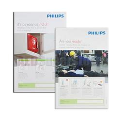 Philips 861476 AED Awareness Poster (4-pack)