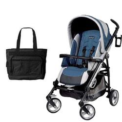 Peg Perego Pliko Four with a Diaper Bag - Regata