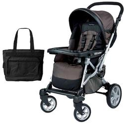 Peg Perego Uno Stroller with a Diaper Bag - Newmoon